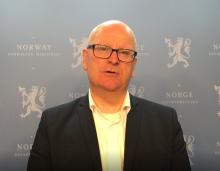 Statens personaldirektør Gisle Norheim